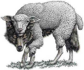 ملت ما ایران نه تنها در گذشته دیو سیرتان آخوند که گرگی در لباس میشند نشناخته، امروز هم پس از ۳۶ سال نوکری آخوند کردن، شرافت، حیثیت، ملیت، ثروت، و اصل و نشان خود را از دست دادن، هنوز هم این گرگان میش نما را درست نمی شناسد.