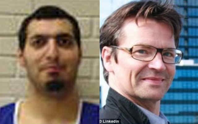 فین ناکارد فیلم بردار ۵ ساله و داوزان نگهبان کنیسه یهودیان که به دستعمر عبدالحمید الحسینی جوان ۲۲ ساله وابسته به گروه داعش کشته شدند.