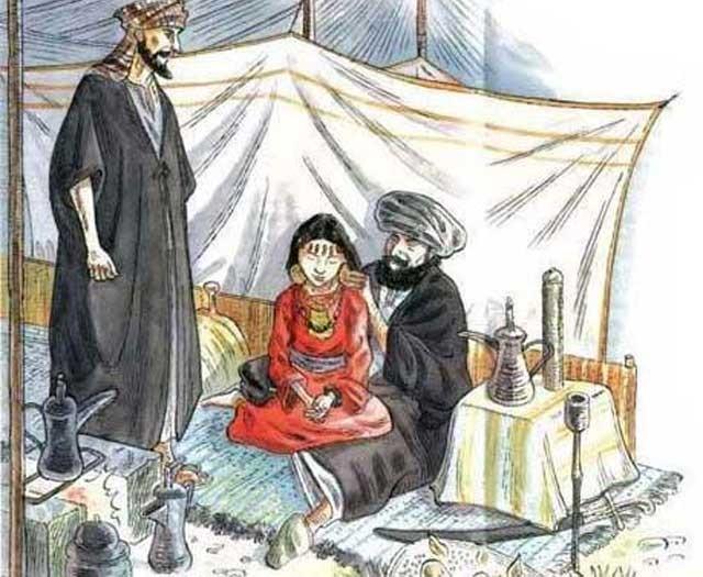 این هم نشانه تمدن و شعور در اسلام است. مردک دختر بچه خردسال خود را نمی توان گفت به همسری، بلکه برای رفع شهوت و روسپیگری در اختیار پیرمرد دیگری هم سن و سال خود قرار می دهد.