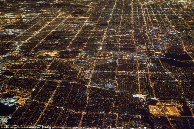 لوس آنجلس آمریکا با جمعیت ۱۵ میلیون نیاز به مصرف مواد غذایی بسیار زیاد دارد. زمین های زیادی زیر کشت میرود، مصرف و تولید مواد اضافی و زباله ها نیز افزون می گردد و به همان نسبت بر آلودگی طبیعت افزوده می شود.
