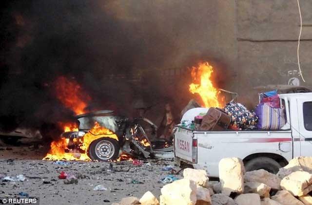 پس از فرار قوای دولتی شهر رمادی به کلی در دست و کنترل داعش قرار گرفته است.