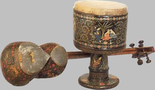 یکی از ادوات موسیقی در ایران باستان