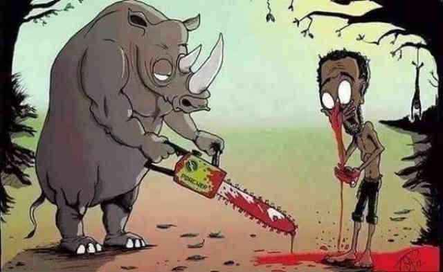 به راستی که باید به انتقام طبیعت از انسان، این وحشی ترین جانوران امیدوار بود!