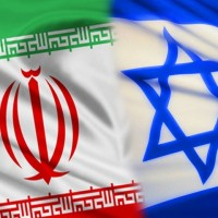 Iran_Israel_flags_01