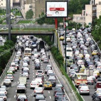 traffic-in-iran