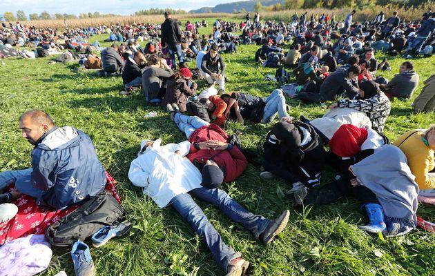 اینها آوارگان سوری اند که شمارشان از ۴ میلیون می گذرد.
