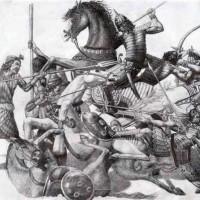 سلطان محمود غزنوی با توجه به دستورات اسلام و قرآن به هند حمله کرد و مردم آن جا که مسلمان نبودند قتل عام نمود و ثروت های آنان را دزدیده به ایران آورد.