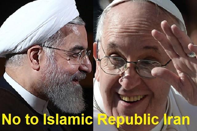 آیا دیدار پاپ که بعنوان بالاترین مقام دین مسیحیت شناخته می شود تأییدی بر جنایات چهار دهه جمهوری اسلامی نیست؟