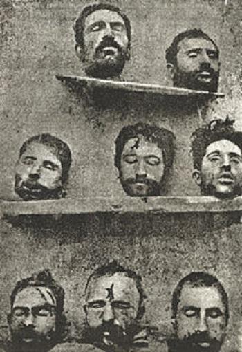 تصویر 8 پروفسور ارمنی که ترکیه در قتل عام ارمنه سرهایشان را به نمایش گذاشت.