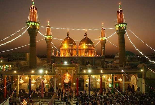 گنبدی از طلاهای دزدیده شده از ایران بر آرامگاه آمام موسی کاظم و امام جواد.