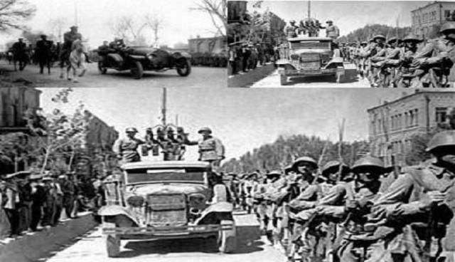 طرفداری رضاشاه از هیتلر و جدا شدن وی از راه و خط مشی متفقین موجب گردید که آنان ایران را اشغآل کنند و سالها در ایران بمانند.