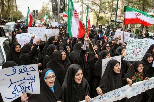 زنان، از اسلام و این رژیم بزرگترین سیلی را خورده و می خورند ولی با این وجود بزرگترین حامیان این رژیم آدمخوار و دشمن آزادی و سربلندی ایرانند