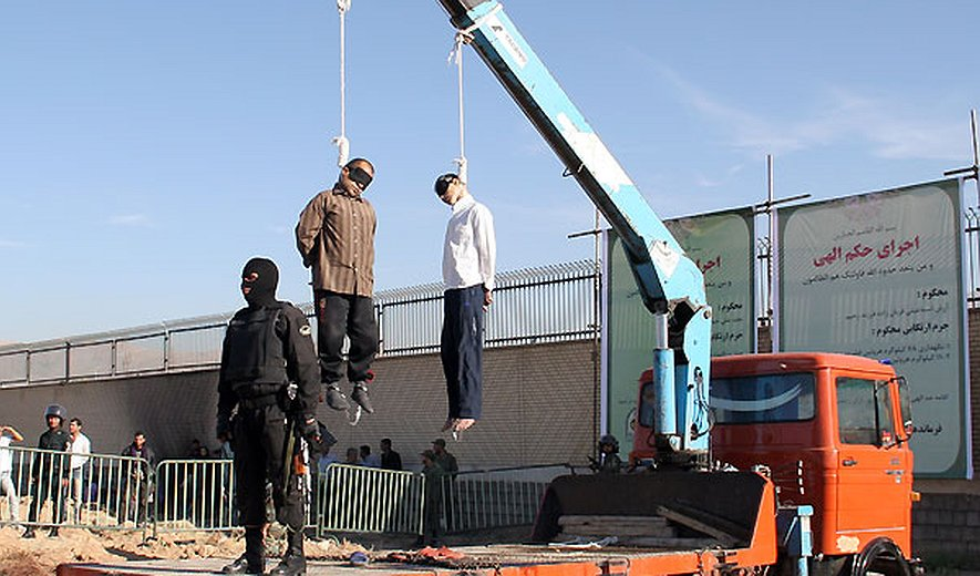 public exection iran