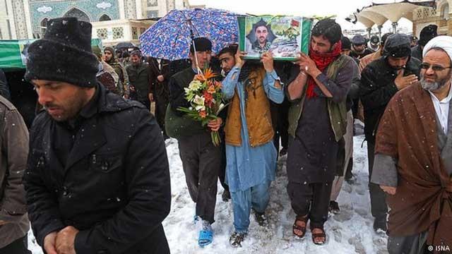 اعزام مهاجرین افغان در ایران به سوریه که همگی میهمان و هم کیش و هم آئین ما می باشند نیزجنایت بزرگ دیگری است که خامنه ای جنایتکار بدان اقدام ورزیده است.