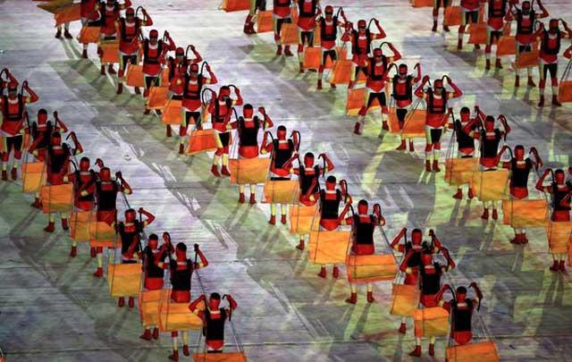 فرتوری از جشن پایان المپیک که یکشنبه شب ۲۱ اوت در ریو دو ژانیرو برگزار شد.