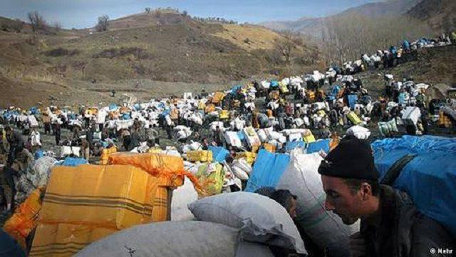 این تصویر عمق فقر و بیکاری در کردستان را نشان می دهد.