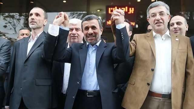 احمدی نژاد دزد بیشرفی که مدت ۸ سال مملکت ما را غارت کرد و آن را به باد داد همراه با مزدوران و افراد غارتگری که منصوب علی خامنه ای ابر دزد و ابر جنایتکار می باشند. نفرین و لعنت بر همه آنان باد.