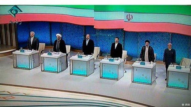 مناظره تلویزیونی میان ۶ دلقک ولی فقیه.