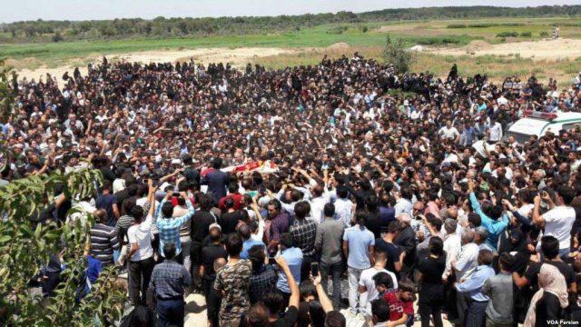 خشم عمومی در پارس آباد مغان پس از آزار و قتل آتنا اصلانی یک دختر هفت ساله