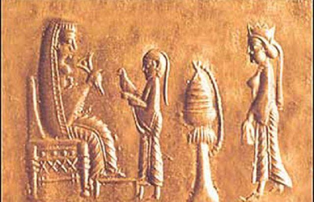 پوراندخت پادشاه زن ایرانی که در 4 سال حکومت کوتاهش خدمات بسیار انجام داد.