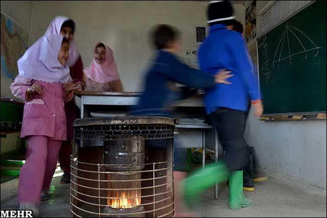 این یک بخاری نفتی در توابع قم است که هیچگونه امنیتی ندارد و هرآن ممکن است منفجر شود و دانش آموزان را در خود بسوزاند . همانند بخاری نفتی کلاس چهارم ابتدایی دبستان دخترانه شین آباد واقع در روستایی به همین نام در ۵ کیلومتری پیرانشهر کردستان. که آتش گرفت و ۳۸ دانش آموز دختر این مدرسه دچار سوختگی شدید شدند.