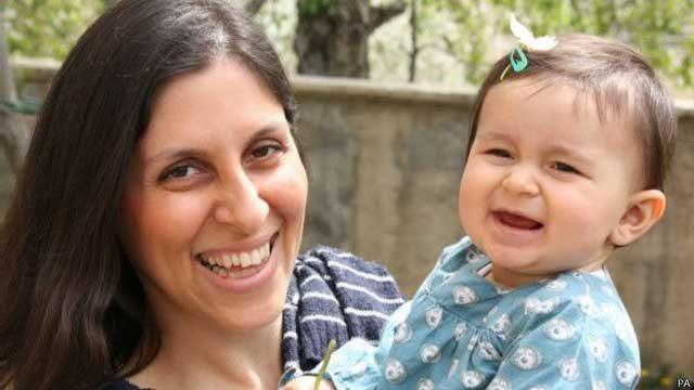 نازنین زاغری رتکلیفشهروند بریتانیایی ایرانی است که به گفته همسرش برای دیدار با اعضای خانوادهاش به ایران سفر کرده و ۱۵ فروردین ماه هنگام خروج از ایران بازداشت شده است.